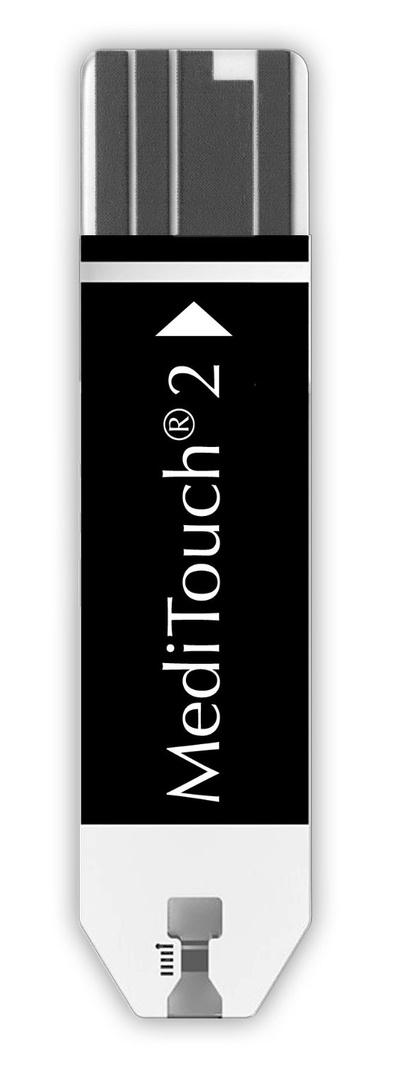 Benzi teste Medisana pentru glucometru MediTouch 2, 2x25 buc