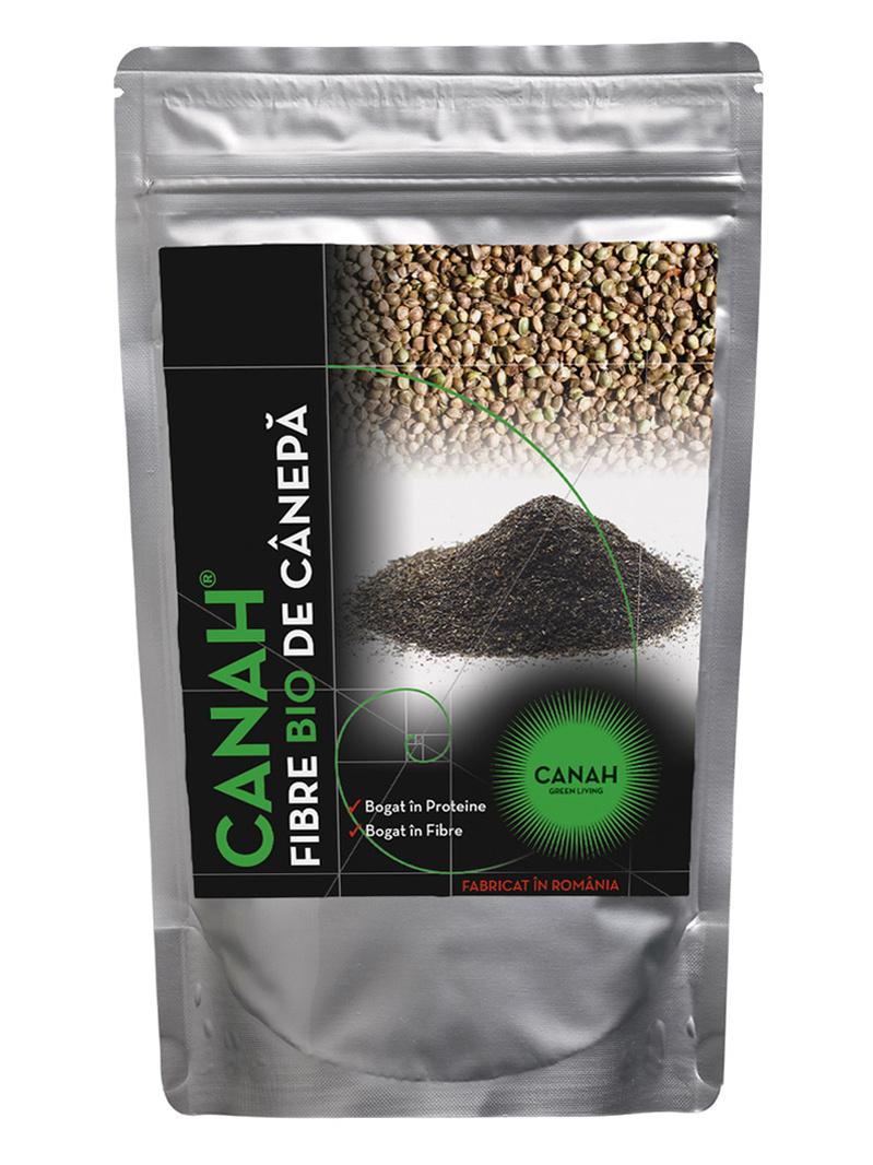 Fibre din seminte de canepa ECO Canah 300 g