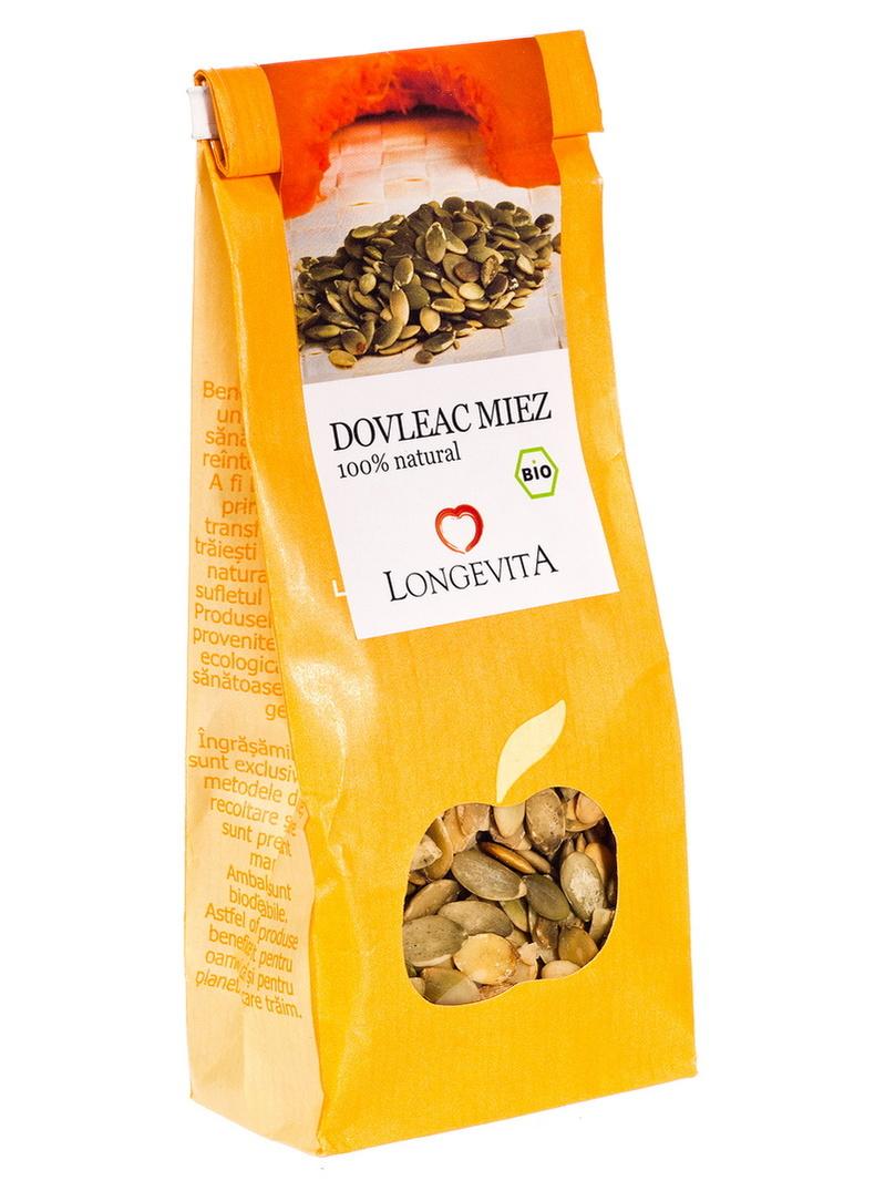 Seminte dovleac eco Longevita 150 g
