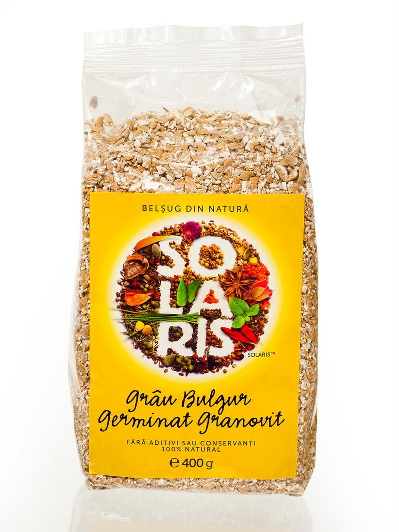 Grau bulgur germinat granovit Solaris 400 g