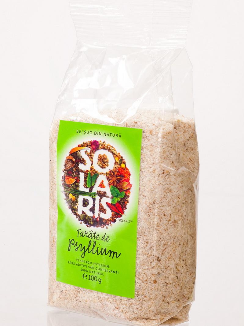 Tarate de psyllium Solaris 100 g
