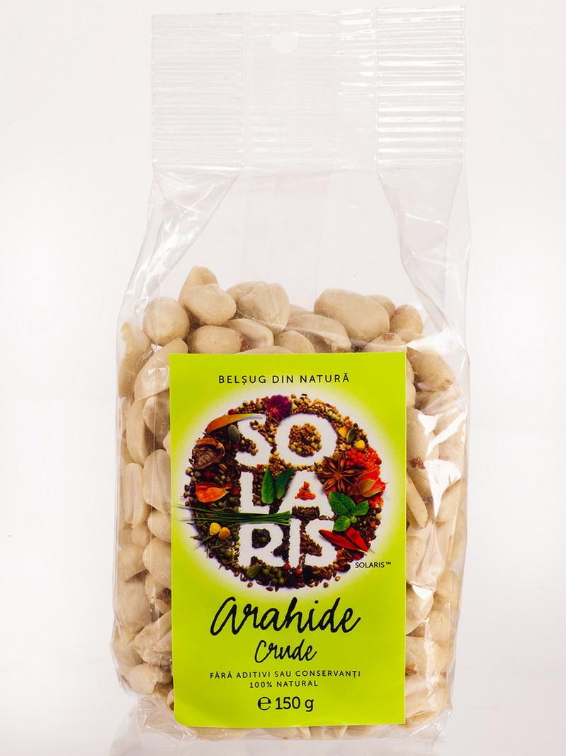 Fructe crude - Arahide Solaris 150 g