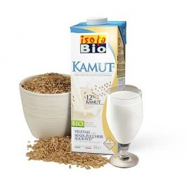 Bautura bio din kamut Isola Bio 1L (fara lactoza)