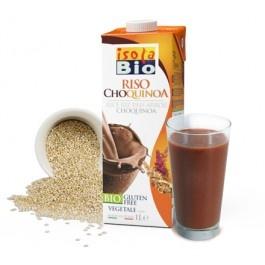Bautura bio din orez, quinoa si cacao Isola Bio 1L (fara lactoza, fara gluten)