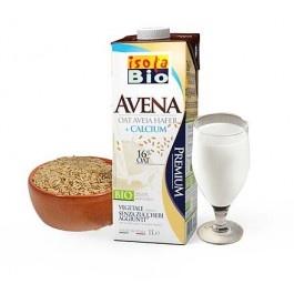 Bautura bio din ovaz si calciu 1L Isola Bio (fara lactoza, fara zahar adaugat)