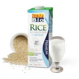 Bautura bio din orez cu calciu Isola Bio 1L (fara gluten, fara lactoza)