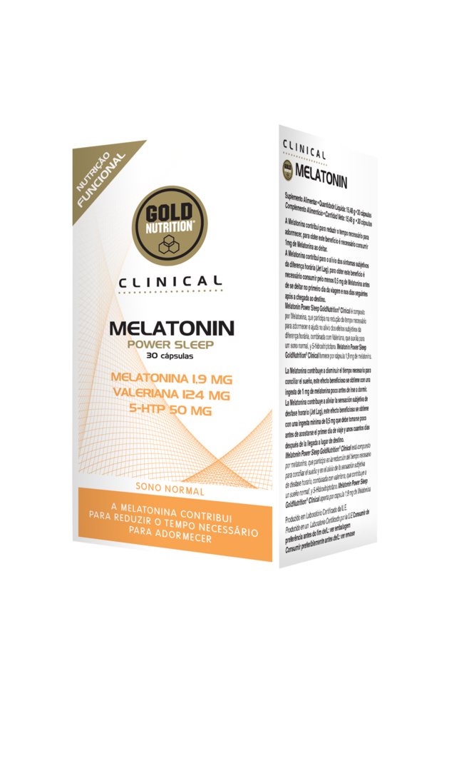 GOLDNUTRITION CLINICAL MELATONIN POWER SLEEP