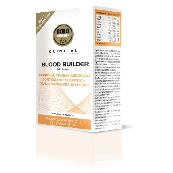 GoldNutrition clinical blood builder 60 cps flacon econutraceuticos