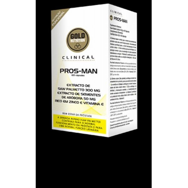 GoldNutrition Clinical Pros-Man 60 cps