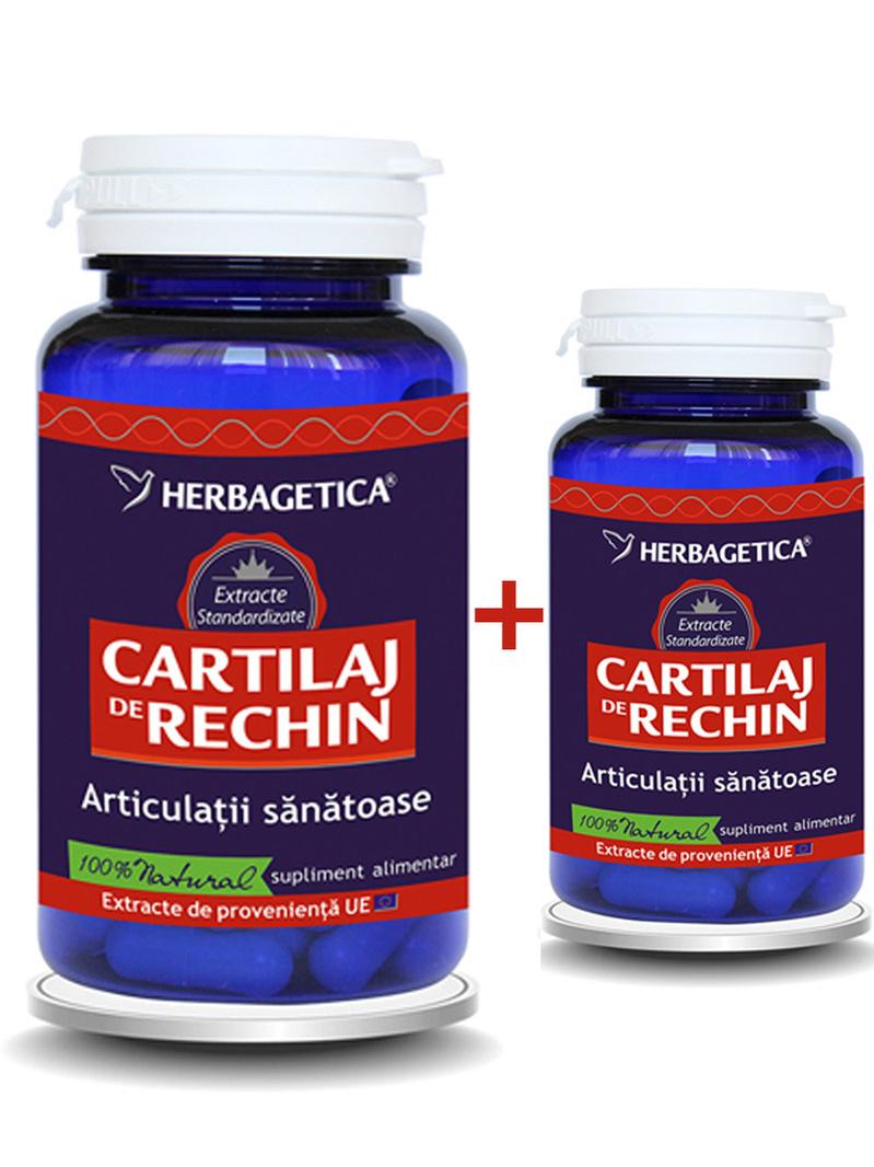 Cartilaj de rechin Herbagetica 60 + 30 grame gratis