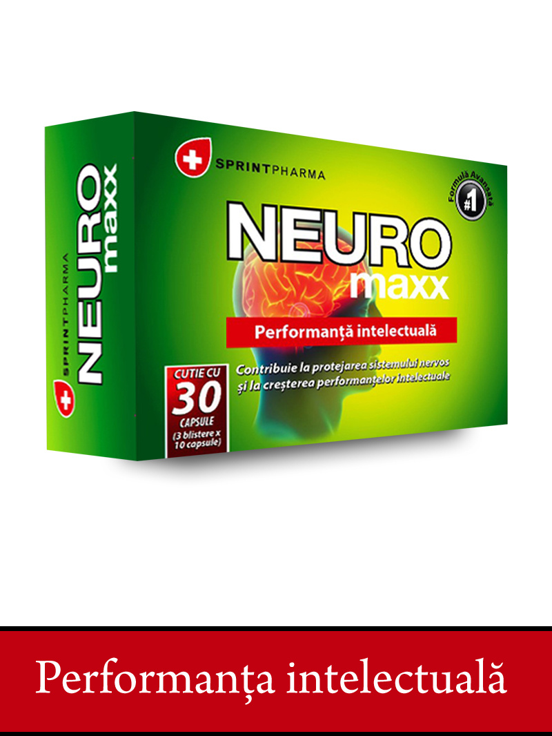 Neuro Maxx Sprint Pharma 25+5 cps