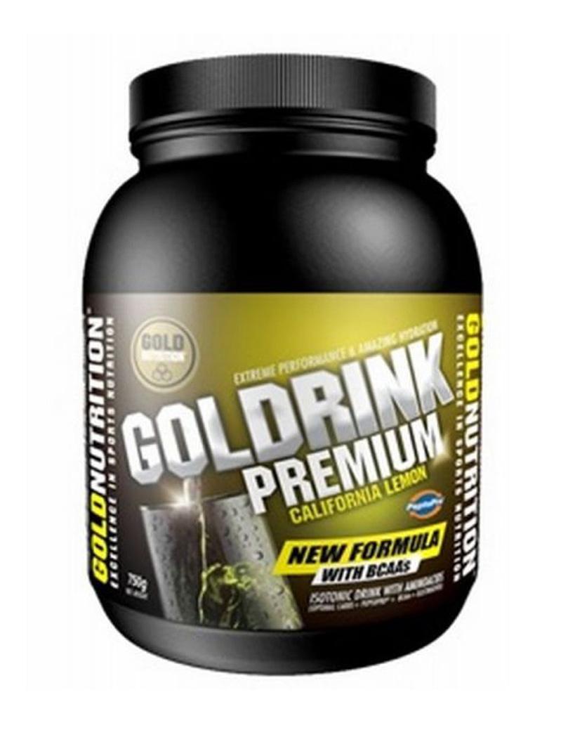 GoldNutrition Goldrink Premium + BCAA`s Lămaie 750 g