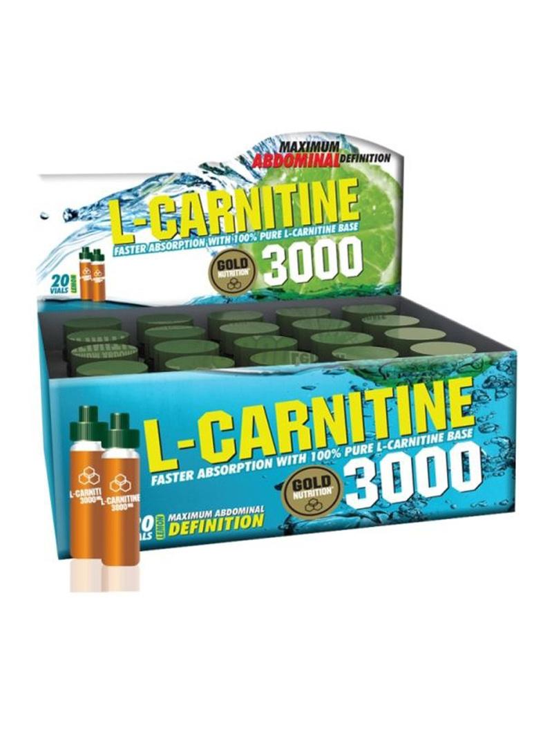 GoldNutrition L-carnitine 3000 mg gold 20 dz