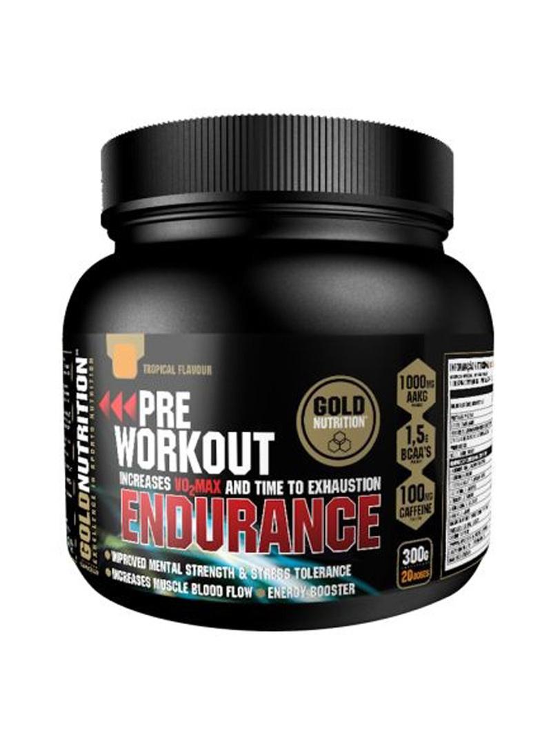 GoldNutrition Pre-workout Endurance 300g