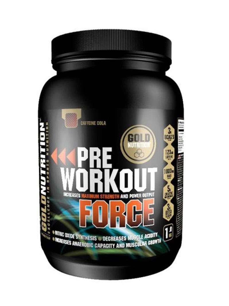GoldNutrition Pre-Workout Force 1 kg