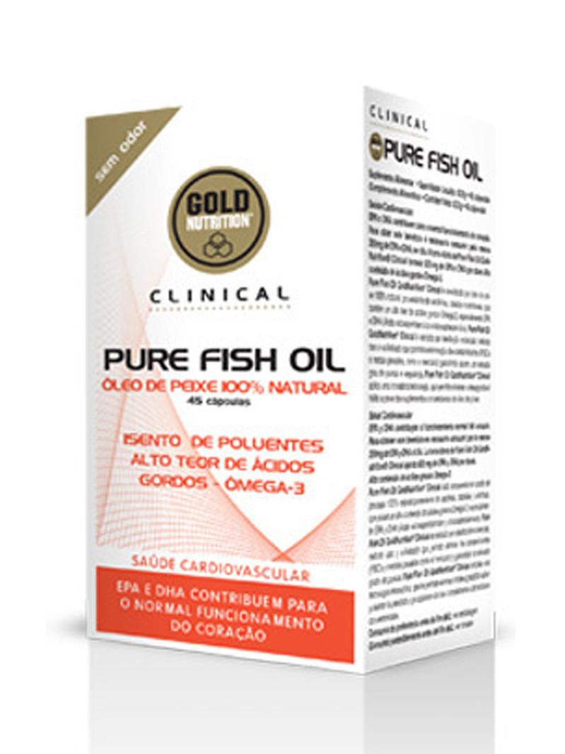 GoldNutrition Clinical Pure Ulei de Pește 45 cps