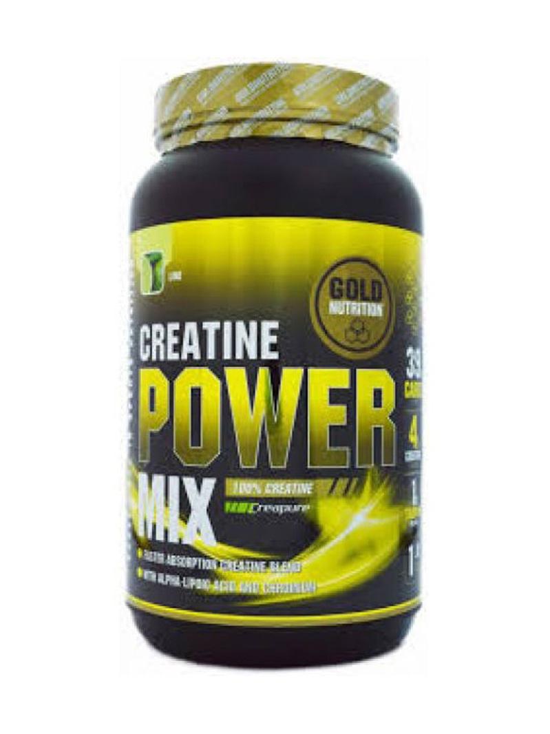 GoldNutrition Creatine Power Mix Lămâie 1kg