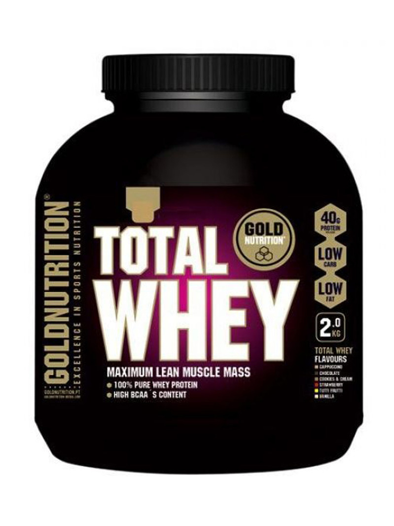 Goldnutrition Total Whey Protein Vanilie 2kg