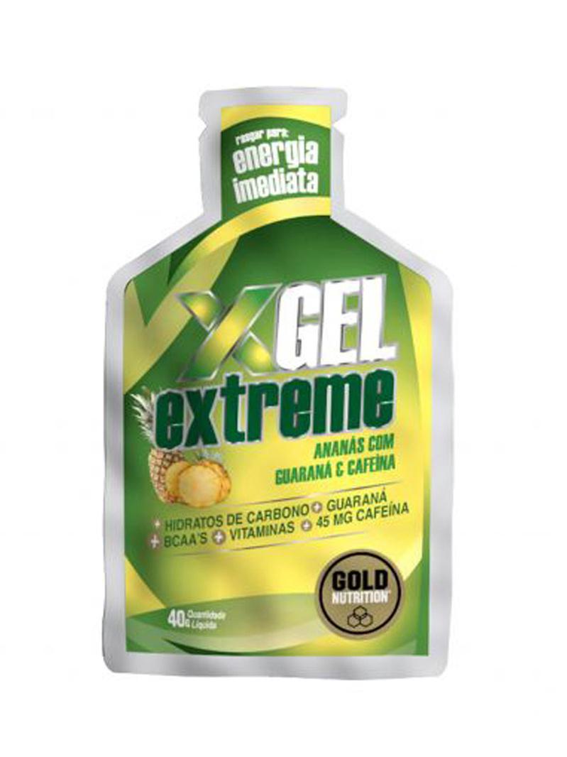 GoldNutrition Extreme Gel guarana ananas 40 g