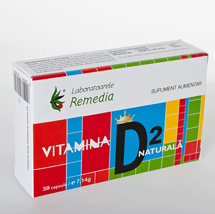 VITAMINA D2 NATURALA