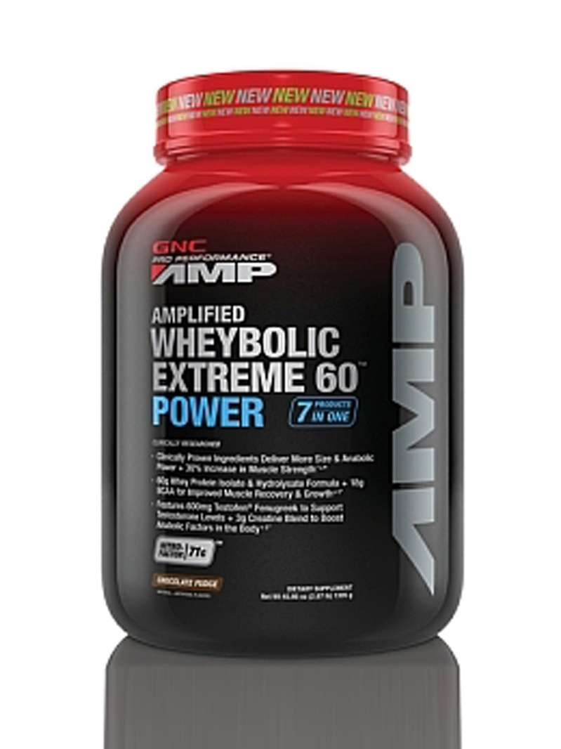 GNC Pro Performance Amp Amplified Wheybolic Extreme 60 Power - Ciocolata 1305 g