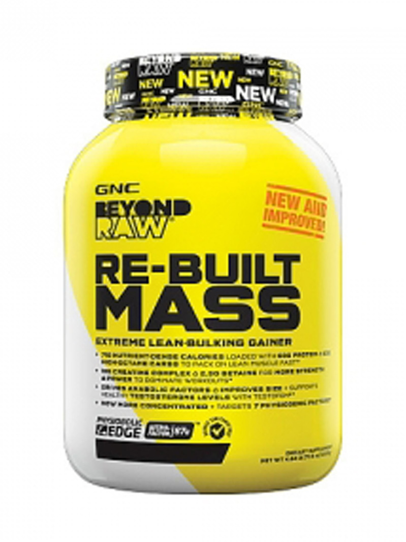 GNC Beyond Raw Re-built Mass Ciocolata 2200 g