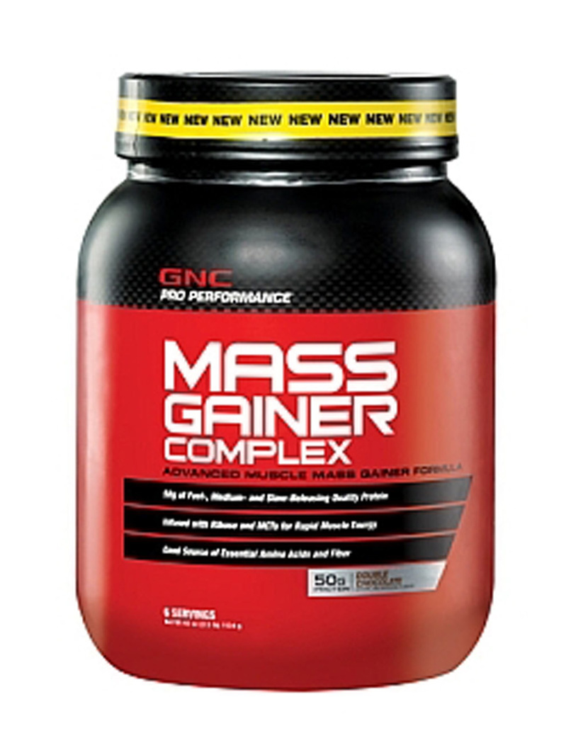 GNC Pro Performance Mass Gainer Complex - Double Chocolate 1134 g