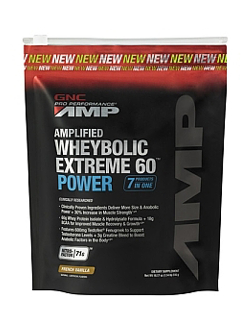 GNC Pro Performance Amp Amplified Wheybolic Extreme 60 Power - Vanilie 516 g