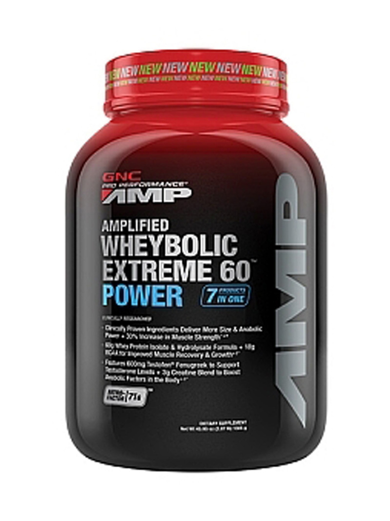 GNC Pro Performance Amp Amplified Wheybolic Extreme 60 Power - Vanilie 1290 g