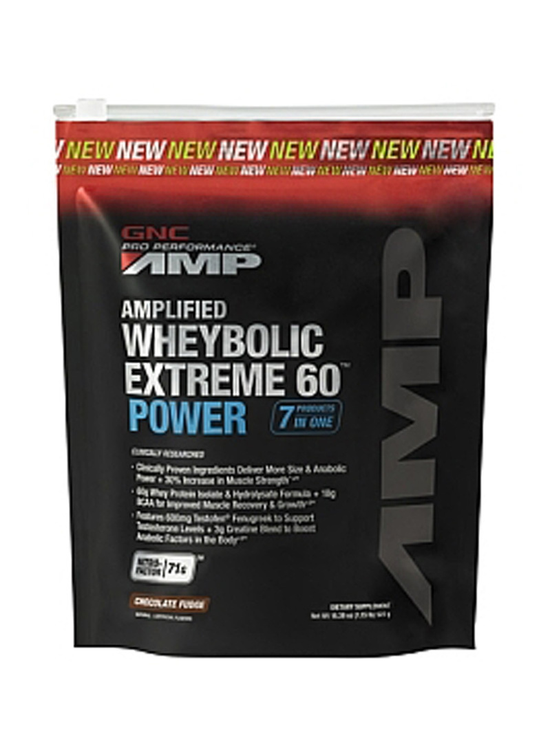 GNC Pro Performance Amp Amplified Wheybolic Extreme 60 Power - Ciocolata 522 g