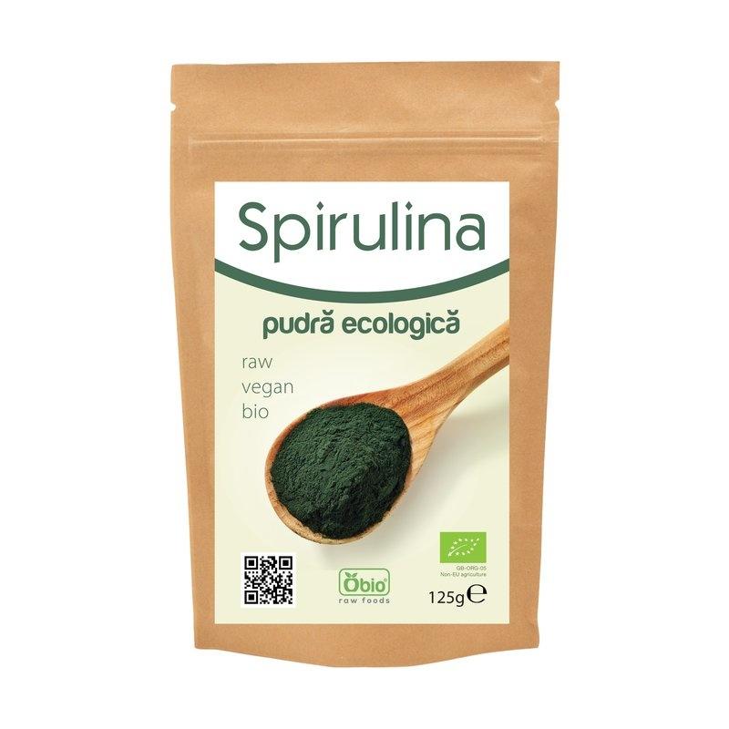 Spirulina PUDRA raw bio 125gr