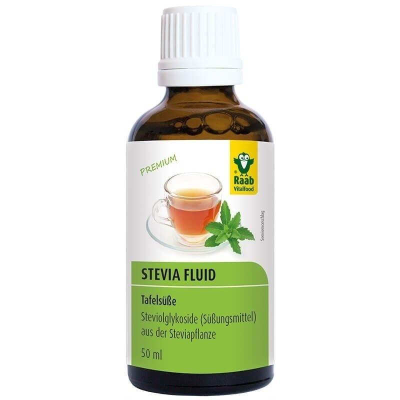 Stevia indulcitor lichid premium 50ml RAAB