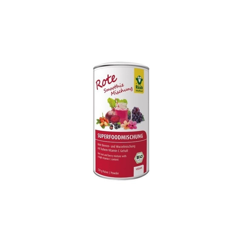 Organic Red Superfood mix bio 220g RAAB
