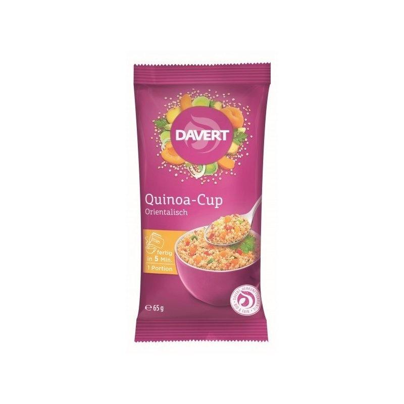 Quinoa cup oriental-style bio 65g DAVERT