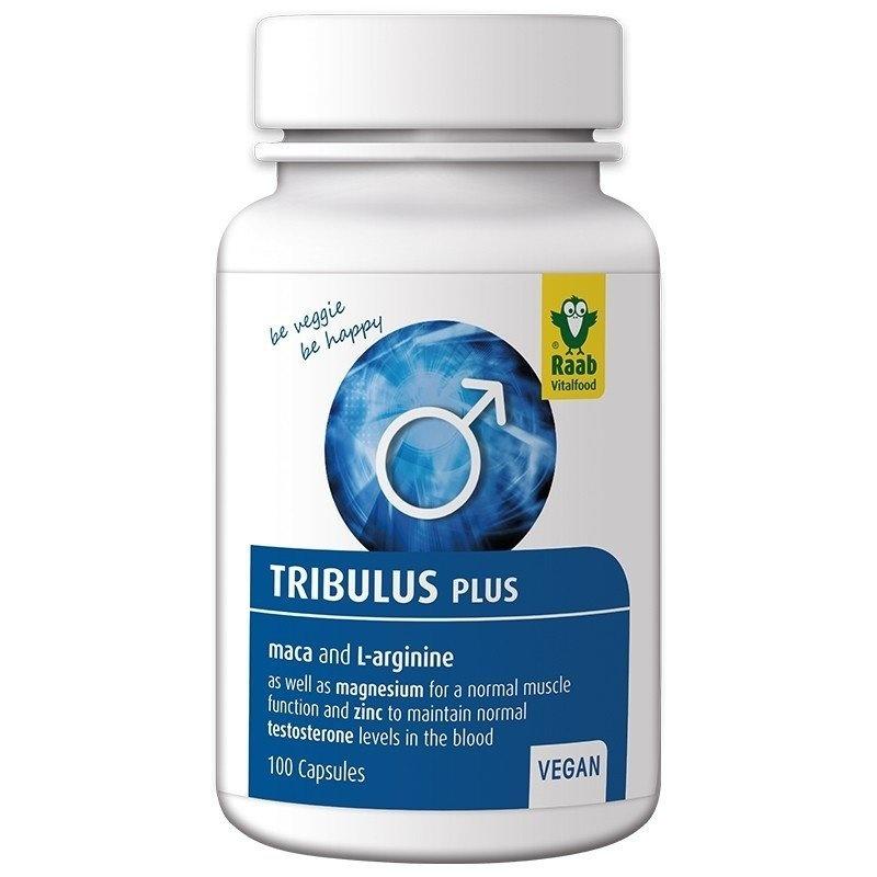 Tribulus plus 650mg, 100 capsule vegane RAAB