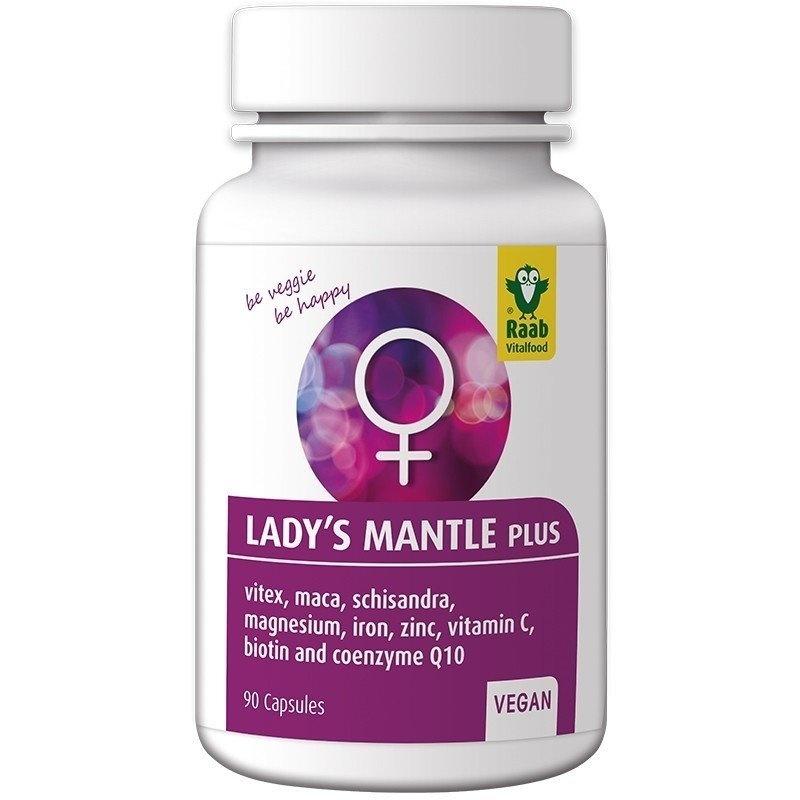 Lady's Mantle (cretisoara) Plus 650mg, 90 capsule vegane RAAB
