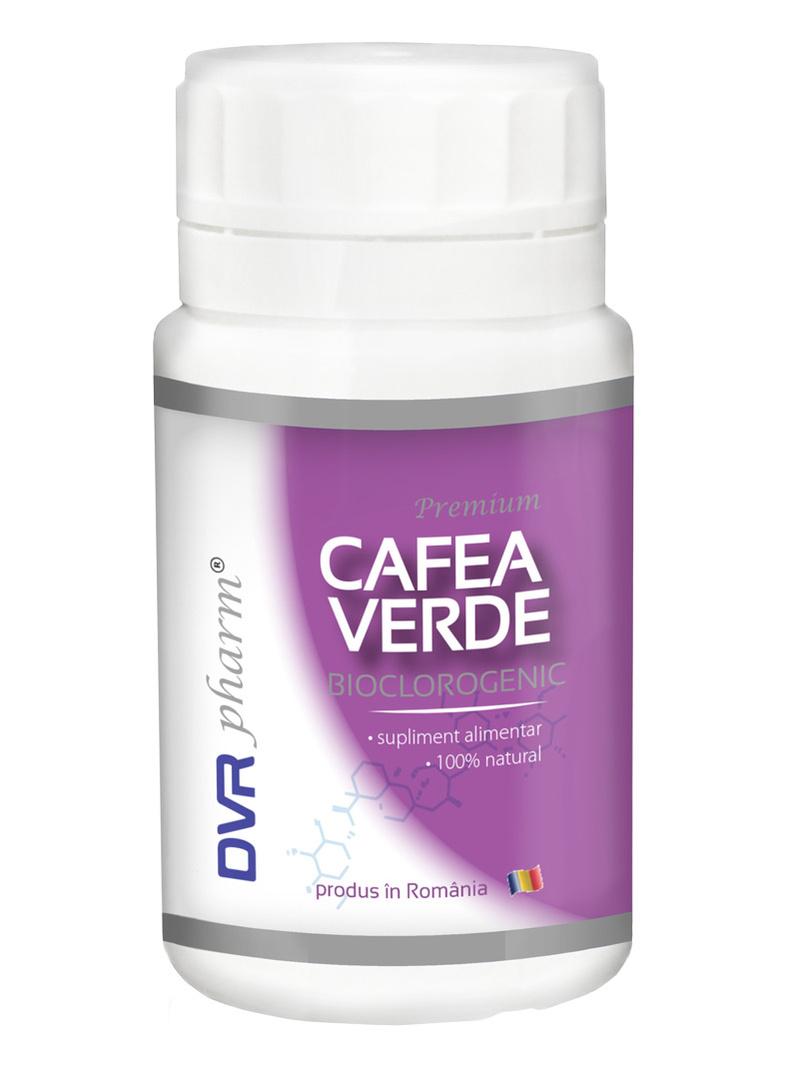 Cafea verde DVR Pharm 60 cps