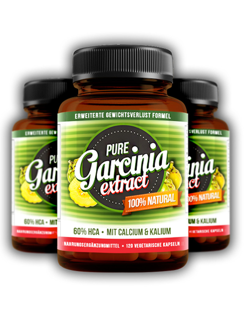 Pure Garcinia Cambogia Extract 120 cps