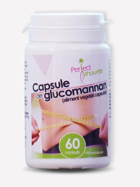 Capsule de glucomannan - Perfect silhouette