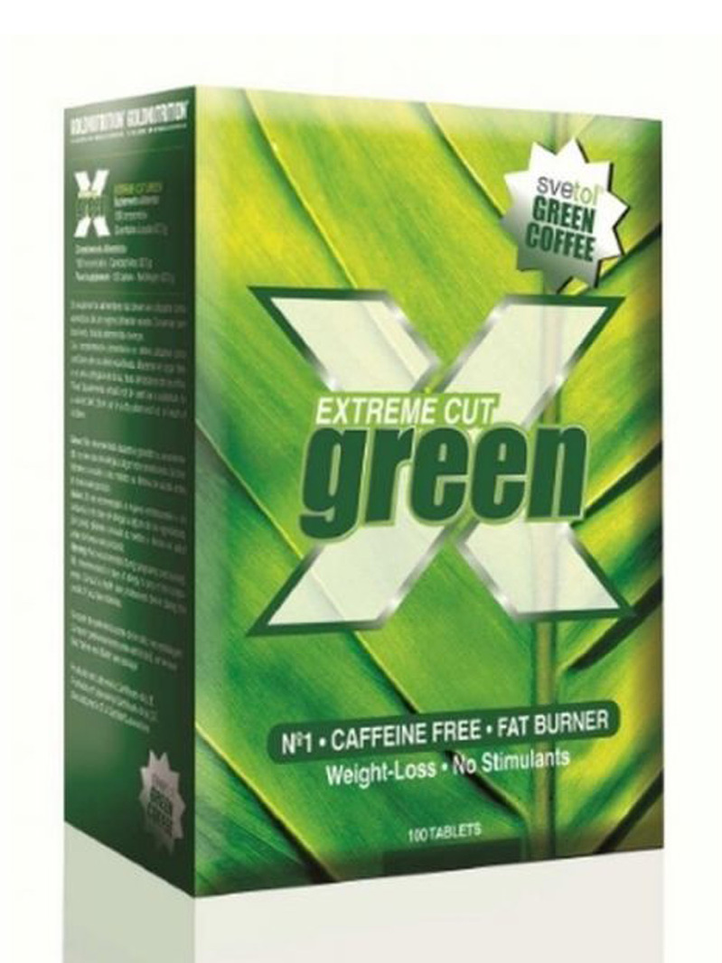 GoldNutrition Extreme Cut Green 100tb