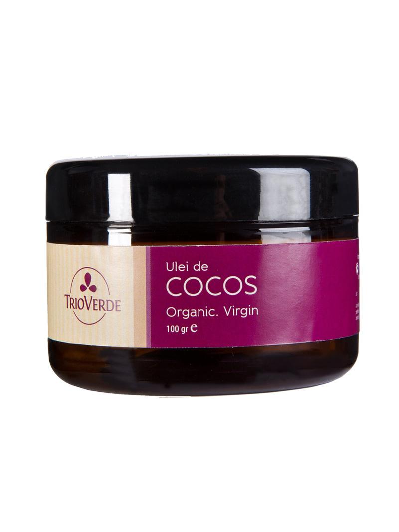Ulei de cocos organic, virgin Trio Verde 100 g