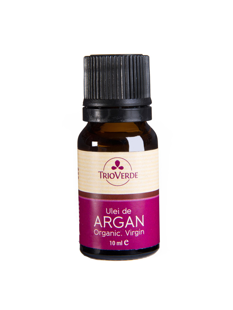 Ulei de argan bio, virgin Trio Verde 10 ml