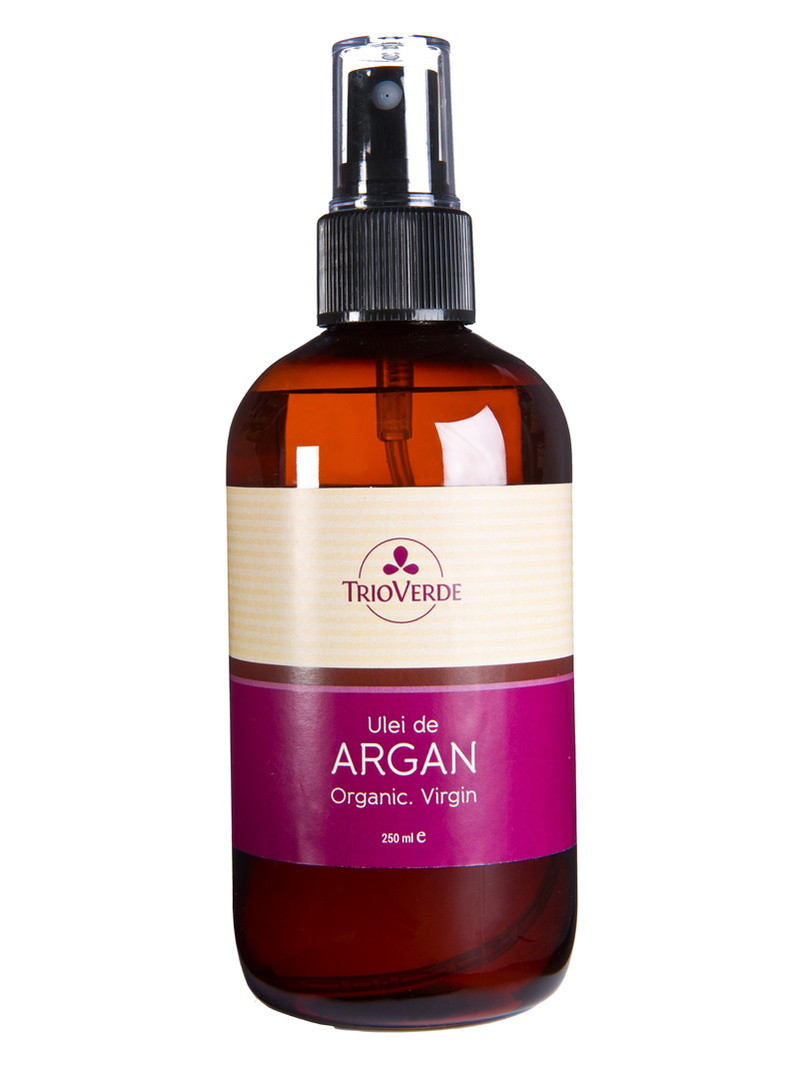 Ulei de argan bio, virgin Trio Verde 250 ml