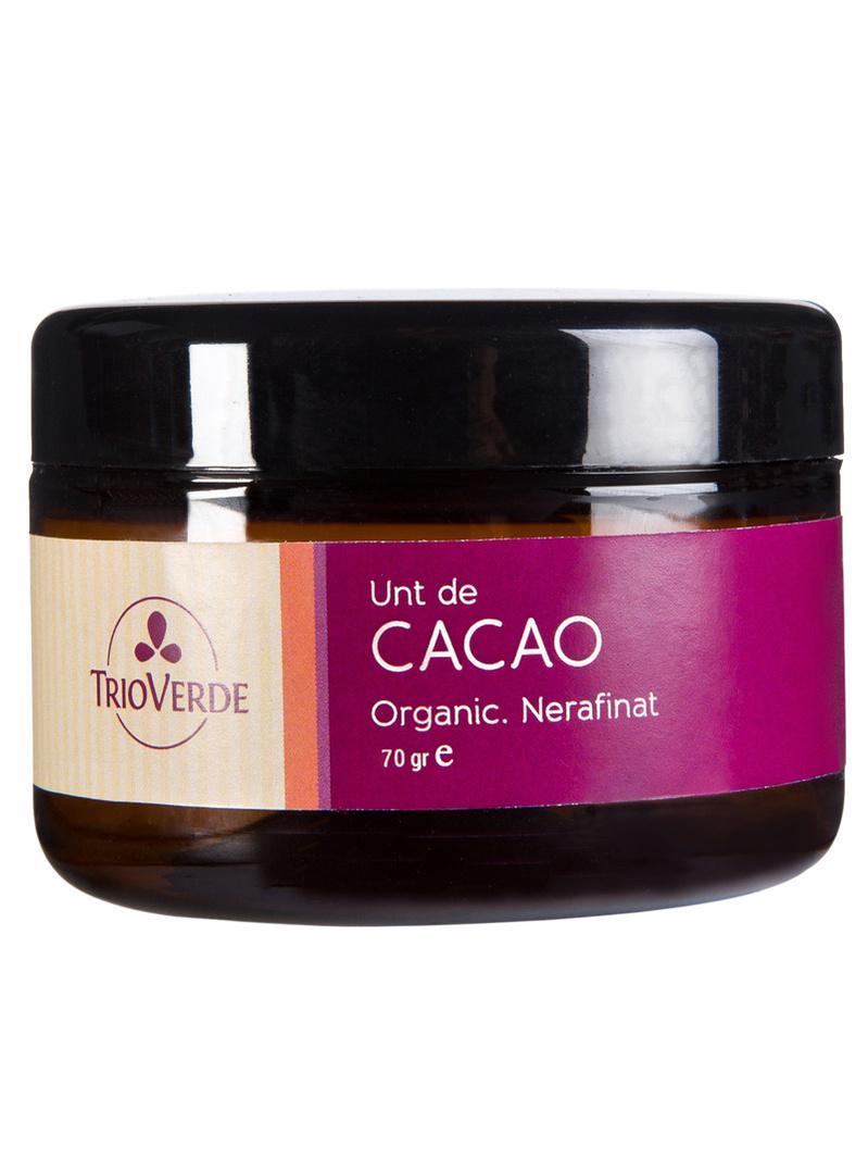 Unt de cacao organic Trio Verde