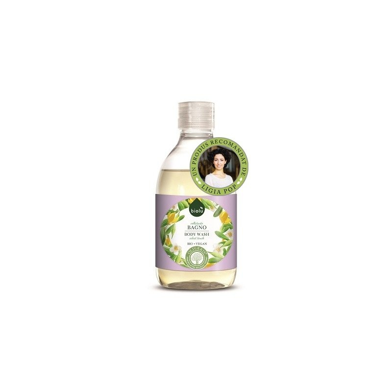 Gel de dus ecologic cu ylang ylang si vitamina E 300ml Biolu