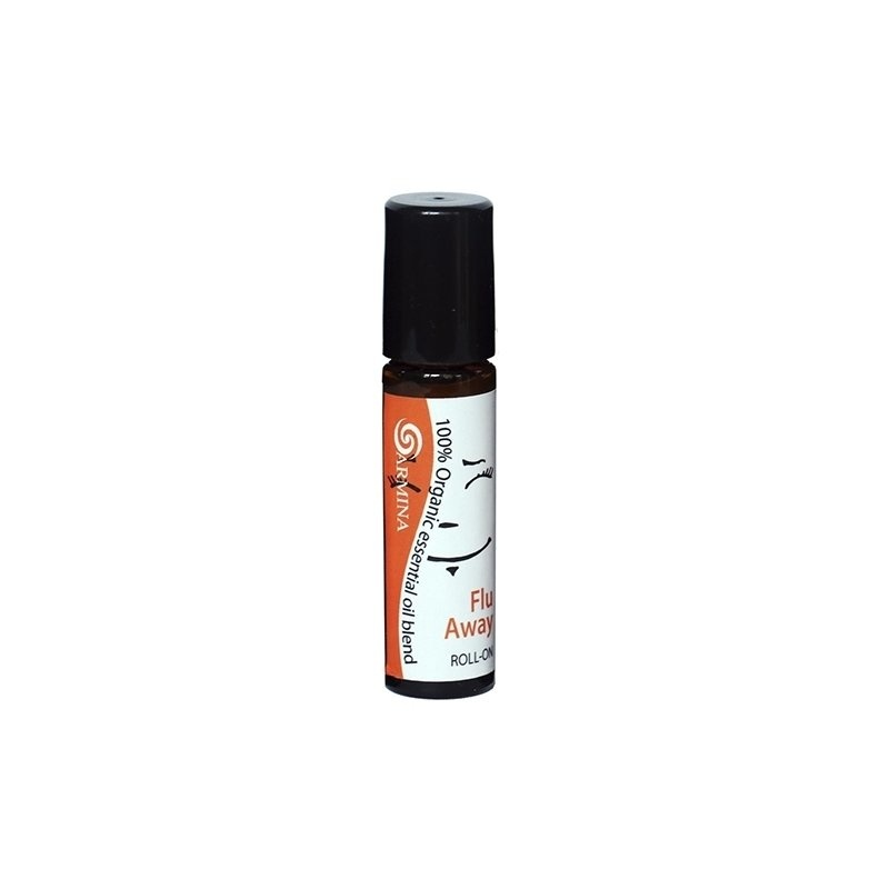 Roll-on blend din uleiuri esentiale FLU AWAY bio 10ml