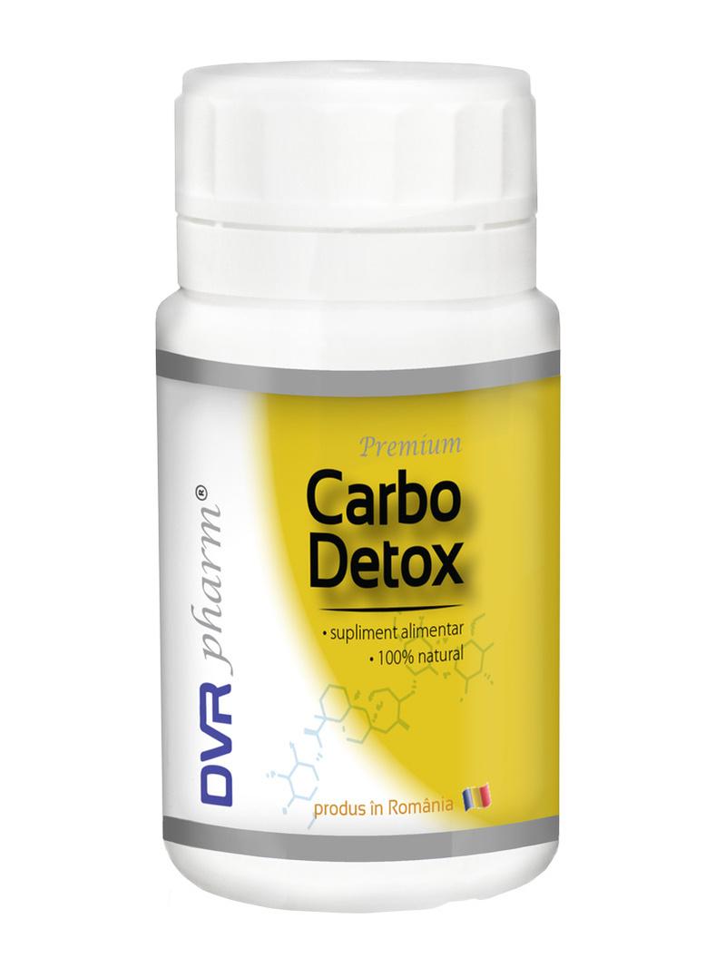Pachet Carbo Detox DVR Pharm 60 cps 1+1 gratis