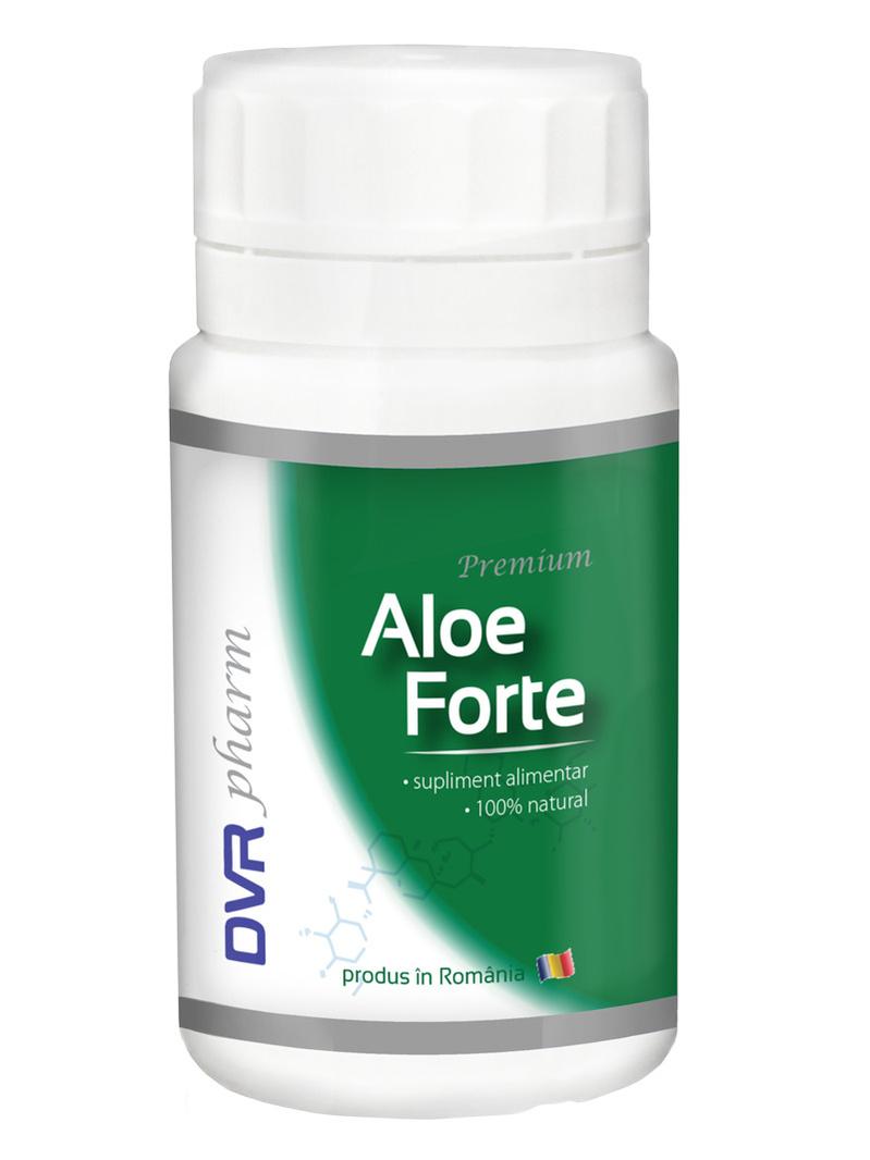 Pachet Aloe Forte DVR Pharm 60 cps + 30 cps gratis