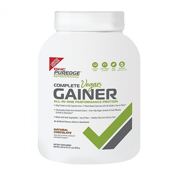 GNC PUREDGE COMPLETE VEGAN GAINER 2030 g