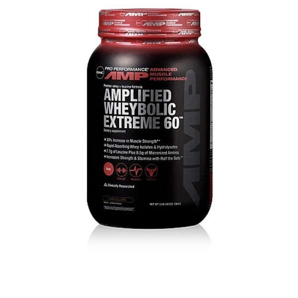 GNC Pro Performance AMP Amplified Wheybolic Extreme 60 - Ciocolata 1364 g